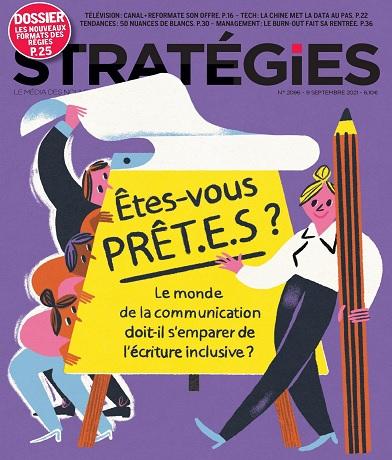 Stratégies N°2096 Du 9 au 15 Septembre 2021