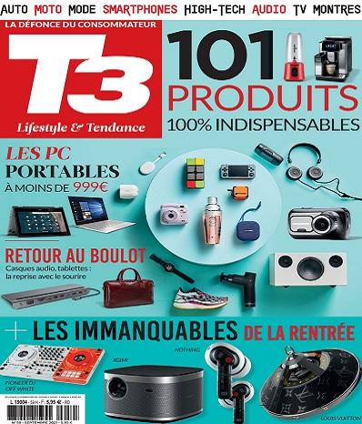 T3 Gadget Magazine N°59 – Septembre 2021