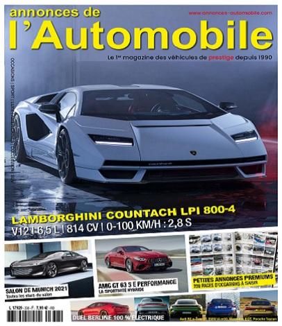 Annonces Automobile N°338 – Septembre 2021