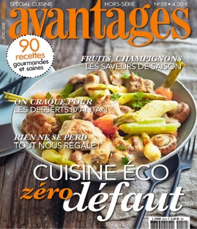 Avantages Hors Série N°58 – Spécial Cuisine 2021