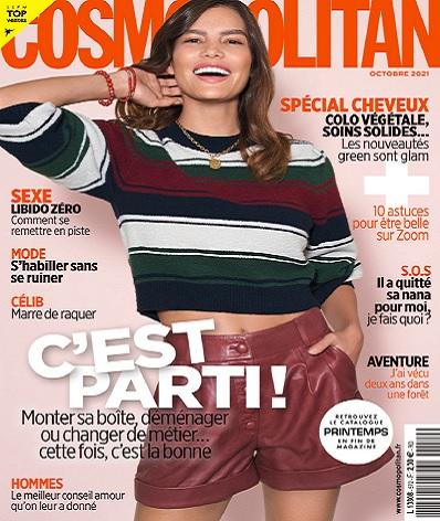 Cosmopolitan N°572 – Octobre 2021