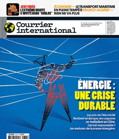 Courrier International N°1615 Du 14 au 20 Octobre 2021