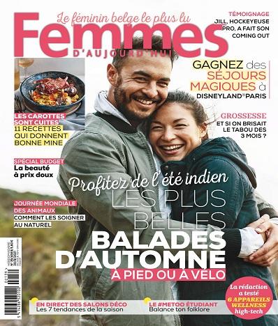 Femmes D'Aujourd'hui N°39 Du 30 Septembre 2021