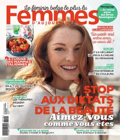 Femmes D'Aujourd'hui N°40 Du 7 au 13 Octobre 2021
