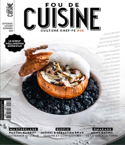 Fou De Cuisine N°25 – Septembre-Novembre 2021