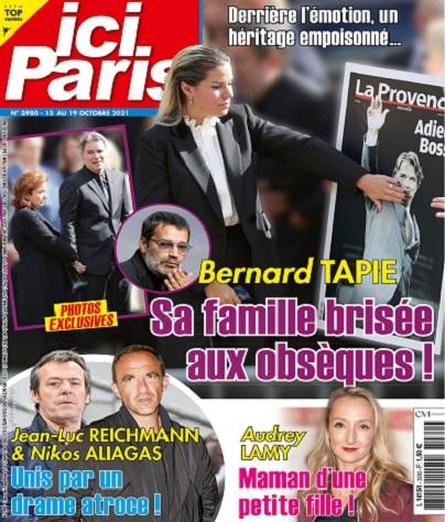 Ici Paris N°3980 Du 13 au 19 Octobre 2021