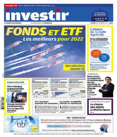 Investir N°2492 Du 9 Octobre 2021