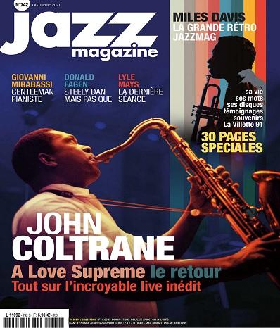 Jazz Magazine N°742 – Octobre 2021