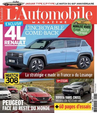 L'Automobile Magazine N°905 – Octobre 2021