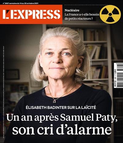 L'Express N°3667 Du 14 au 20 Octobre 2021
