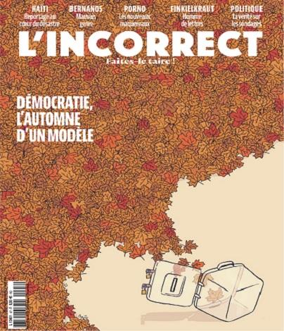 L'Incorrect N°46 – Octobre 2021