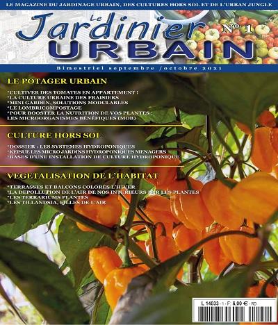 Le Jardinier Urbain N°1 – Septembre-Octobre 2021