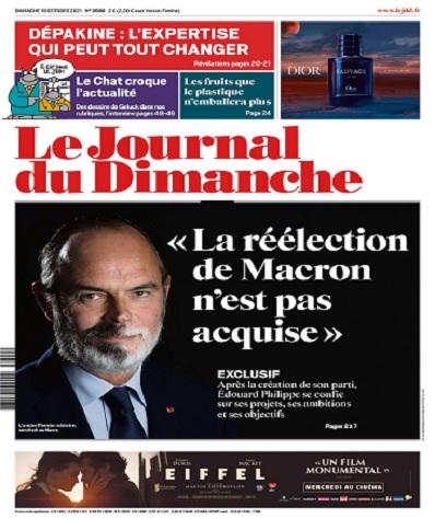 Le Journal Du Dimanche N°3900 Du 10 Octobre 2021