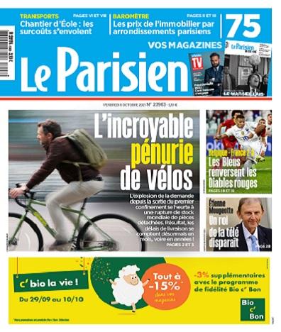 Le Parisien Du Vendredi 8 Octobre 2021