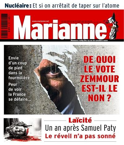 Marianne N°1283 Du 15 au 21 Octobre 2021