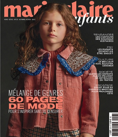 Marie Claire Enfants Hors Série N°23 – Automne-Hiver 2021