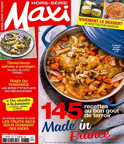 Maxi Hors Série Cuisine N°51 – Novembre-Décembre 2021