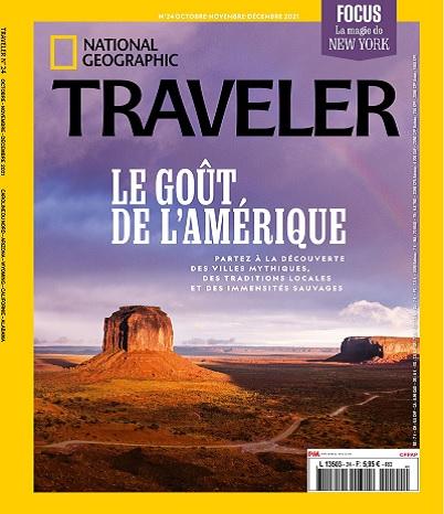 National Geographic Traveler N°24 – Octobre-Décembre 2021