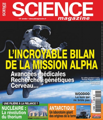 Science Magazine N°72 – Novembre 2021-Janvier 2022