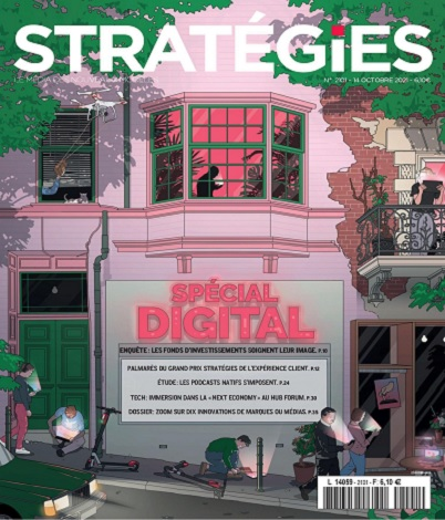 Stratégies N°2101 Du 14 au 20 Octobre 2021